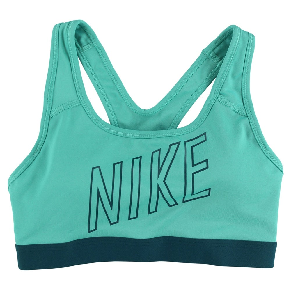 9e2256d968 Shop Nike Womens Pro Classic Padded Logo Sports Bra Light Teal - light  teal teal - Free Shipping On Orders Over  45 - Overstock.com - 22613235
