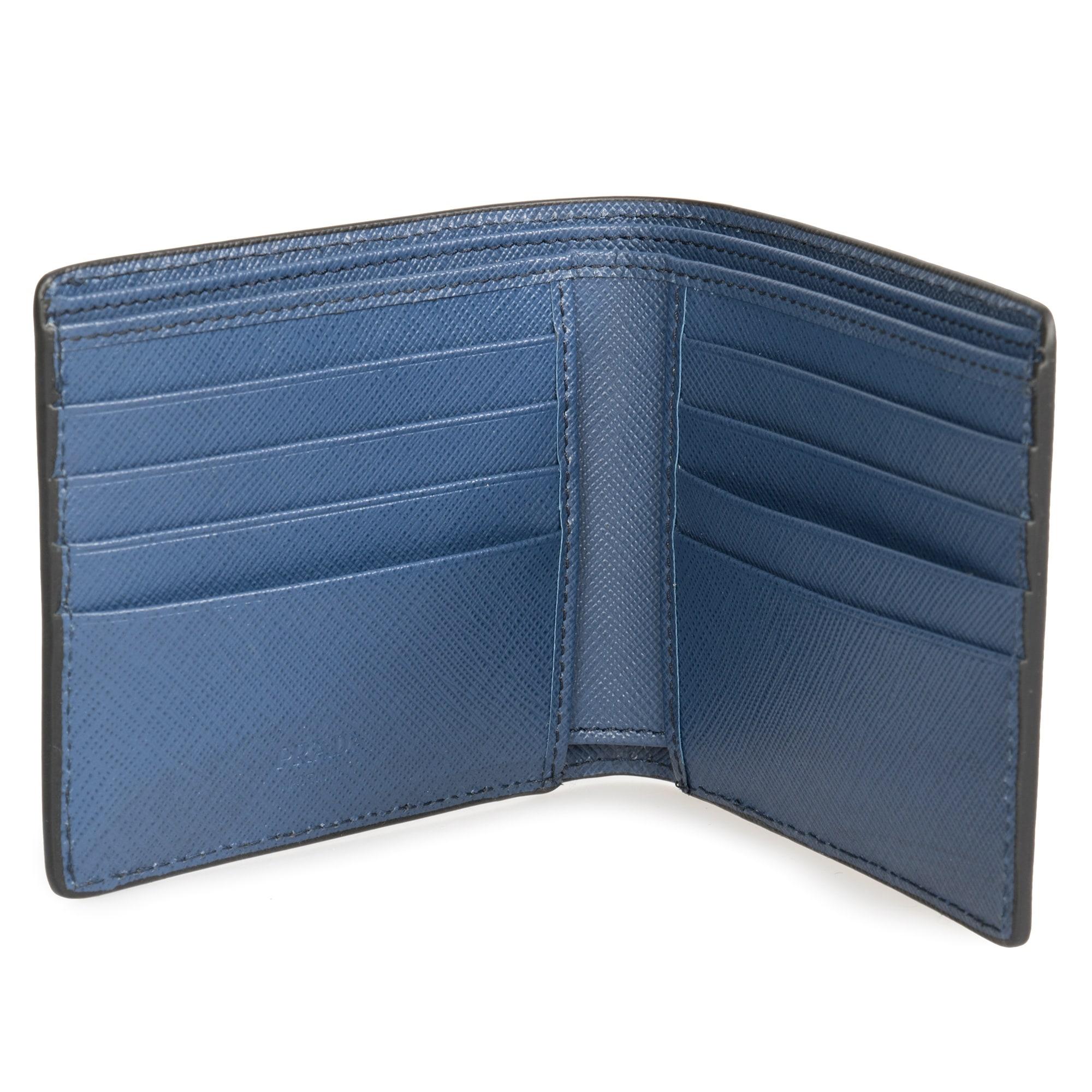 bcaa311c4752 ... australia shop prada black saffiano leather wallet 2mo513 qme f0002  free shipping today overstock 23076882 c3a88