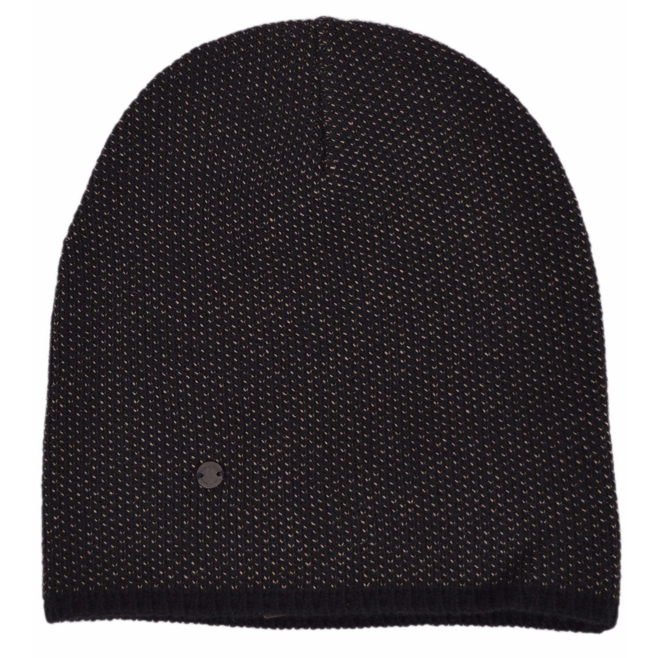81b61a394682d Shop Gucci 352350 Men s Black Beige Wool Cashmere Beanie Ski Winter Hat XL  - Free Shipping Today - Overstock.com - 13814311