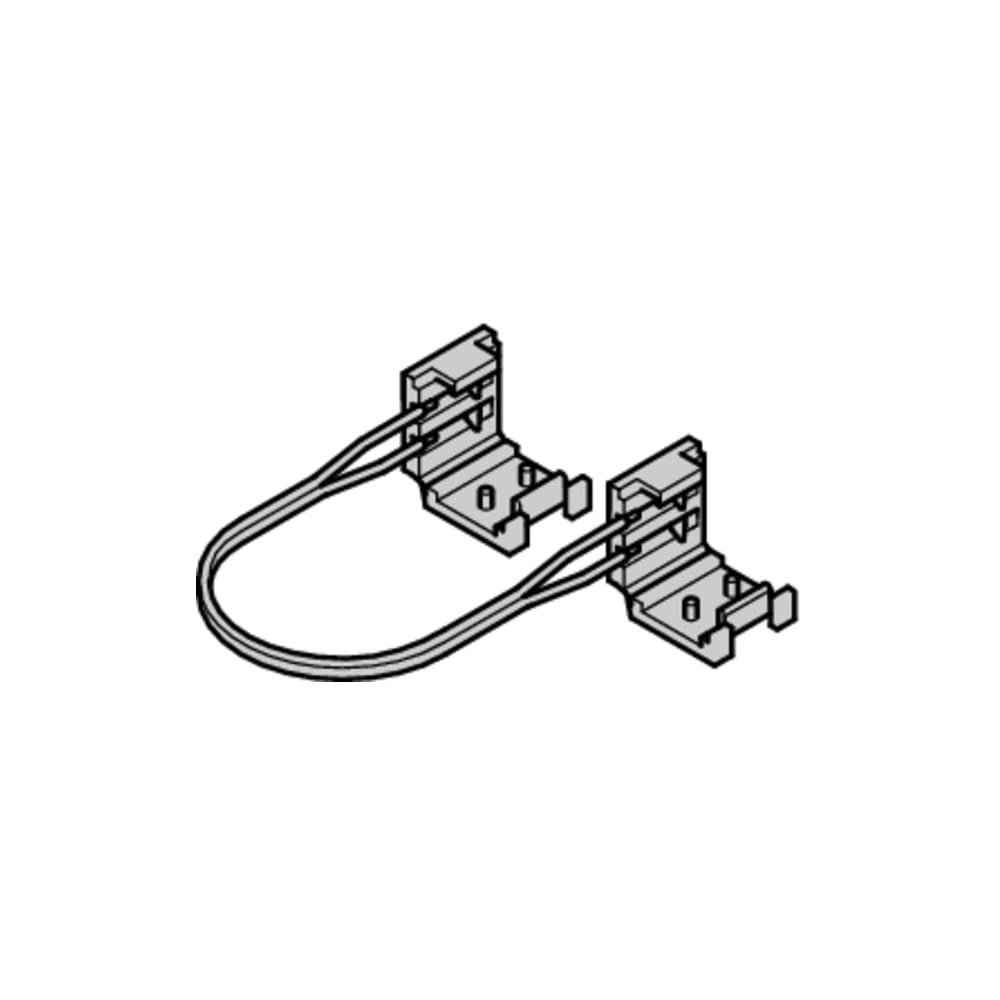Shop Hafele 83374870 12 Volt Flexible Ribbon Daisy Chain Electrical Wiring Connection Cable Black Free Shipping On Orders Over 45 23101733