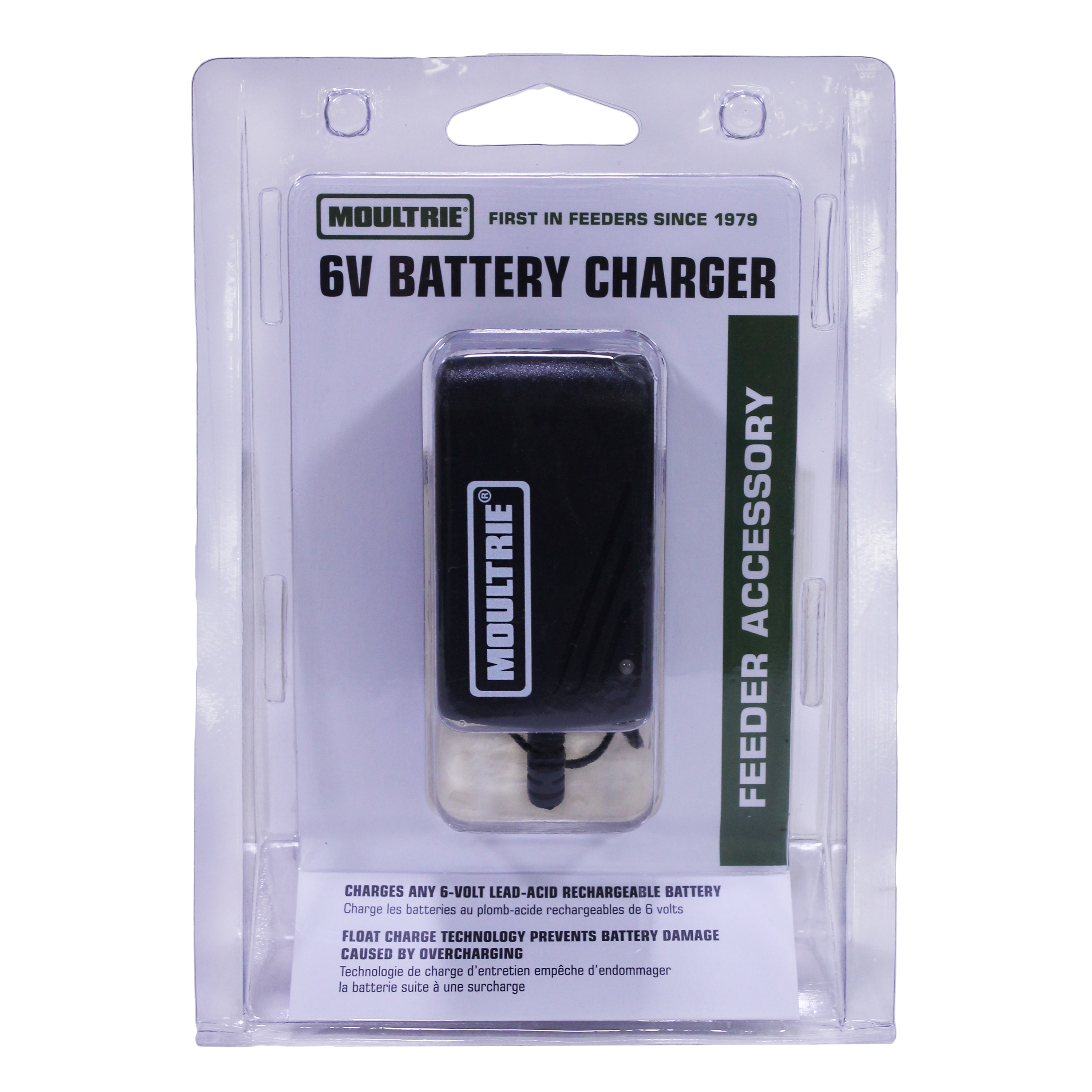 Shop Moultrie Feeders 6 Volt Battery Charger Mfa 13211 Free