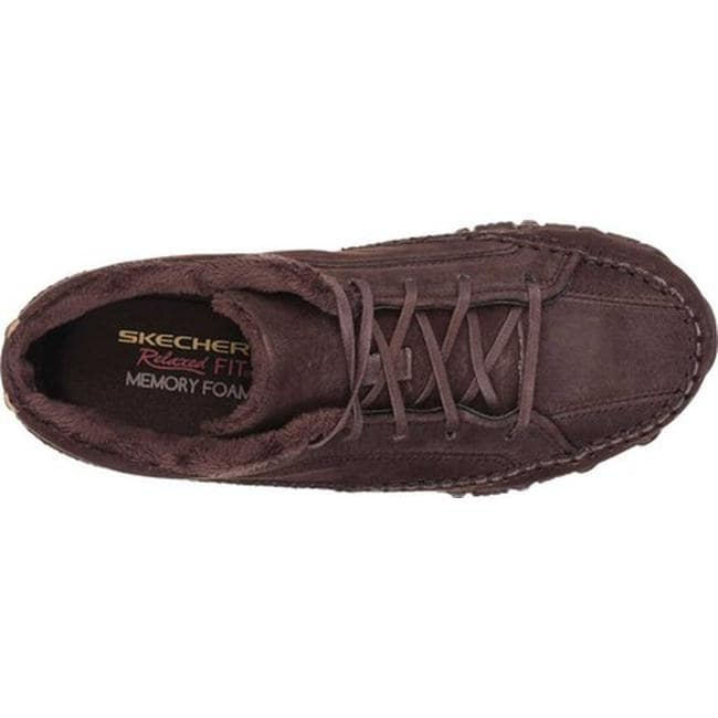 79bd9b6936d3 Shop Skechers Women s Relaxed Fit Bikers Totem Pole Chocolate - On Sale -  Free Shipping On Orders Over  45 - Overstock - 9432857