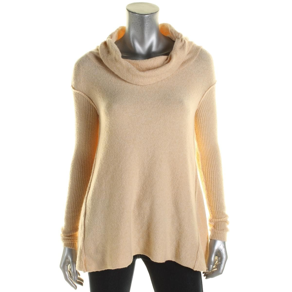 9aa6853ba7 Shop Free People Womens Pullover Sweater Boucle Cowl Neck - Free Shipping  On Orders Over $45 - Overstock - 17338097