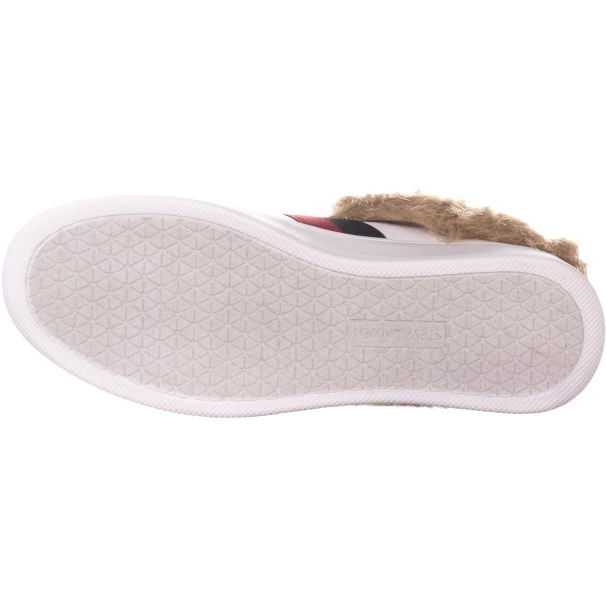bed991b2e Shop Steve Madden Belle Low To Sneakers, White Multi Fur - On Sale - Free  Shipping Today - Overstock - 26063372