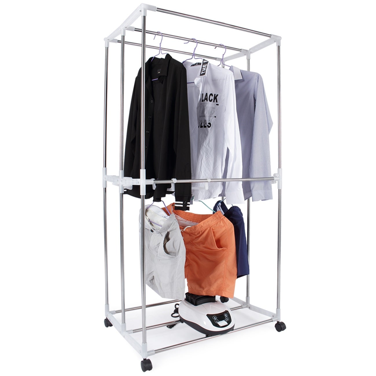 Shop Della 15KG Compact Electric Portable Energy Saving Clothing Dryer Rack  For Homes, Dorms, Convenient In 30 Minutes   Free Shipping Today    Overstock.com ...