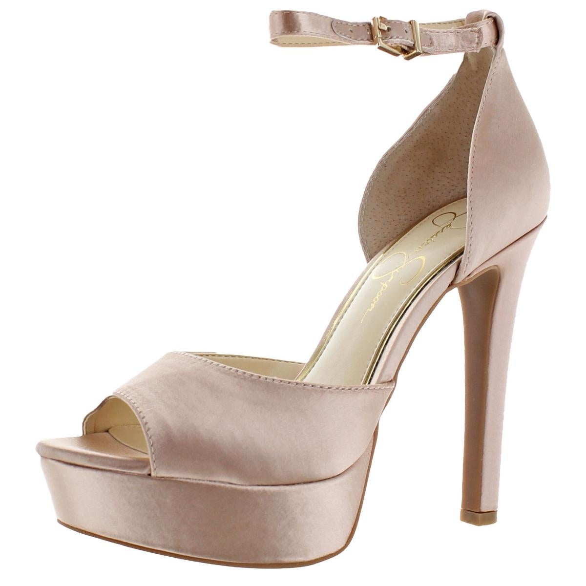 c1413288b576 Shop Jessica Simpson Womens Beeya Heels Padded Insole - Free ...
