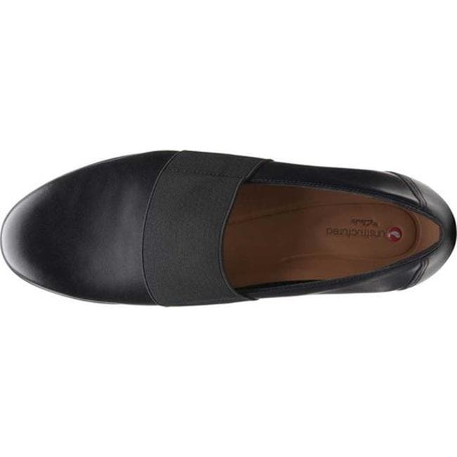 396695d4dafb2 Shop Clarks Women's Un Blush Lo Black Leather - Free Shipping Today -  Overstock - 25586911