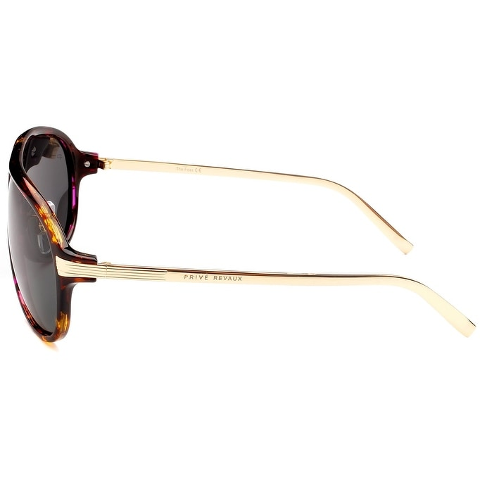 d0a3040015 Shop PRIVÉ REVAUX ICON Collection The McQueen Designer Polarized Aviator  Sunglasses - Free Shipping On Orders Over  45 - Overstock - 21680553