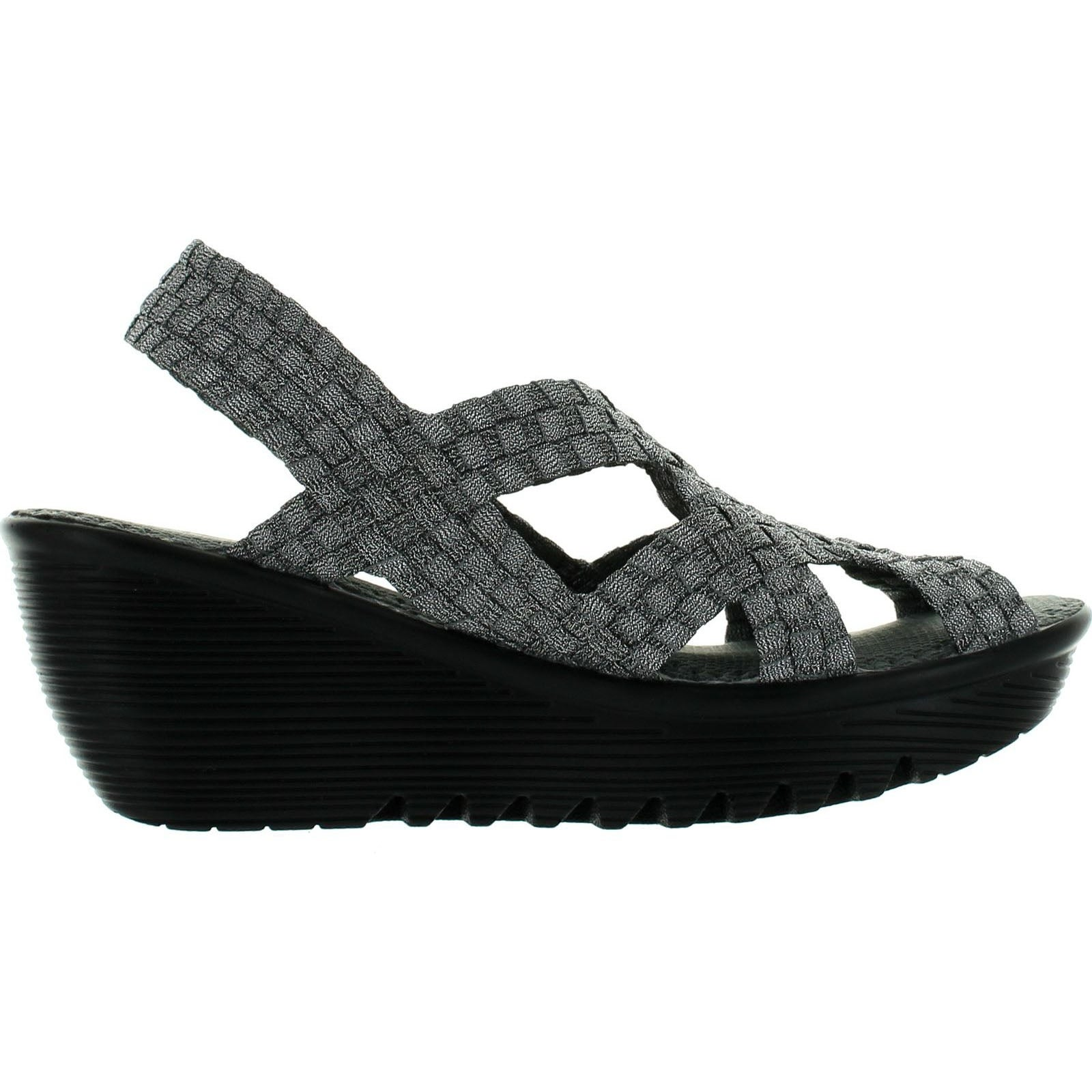d07ee69079e Shop Bernie Mev Womens Contour Wedge Sandals - Free Shipping Today -  Overstock - 14339636