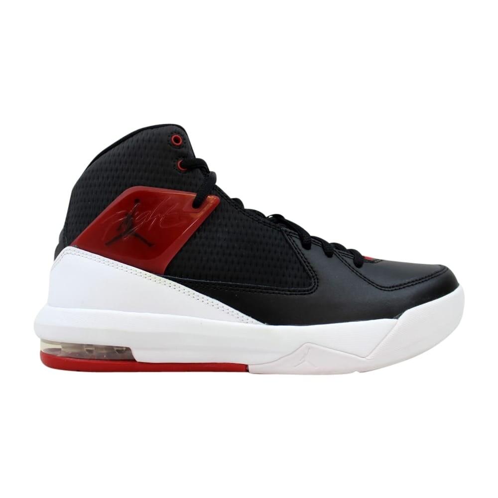 2f1604185e5 Shop Nike Jordan Air Incline BG Black Gym Red-White 705855-001 Grade ...