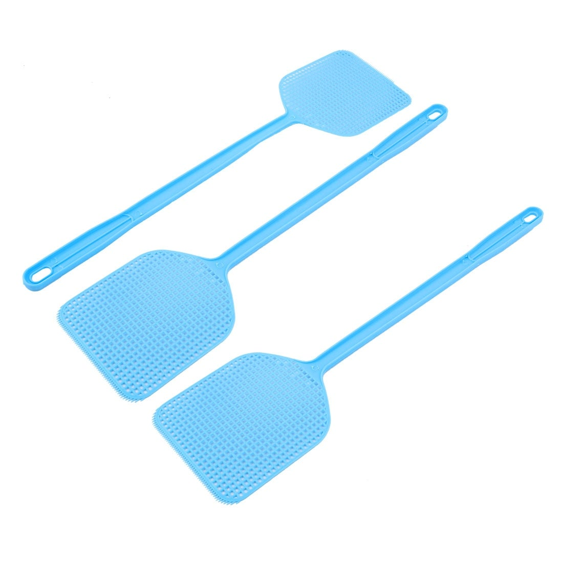 Shop 3pcs Blue Plastic Fly Swatter Bug Mosquito Insect Killer Electronics Hobby Catcher 45cm Length Free Shipping On Orders Over 45 18077508
