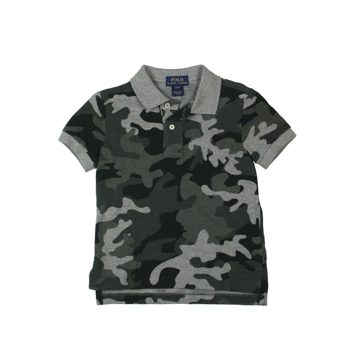 ed345edbb1a9 Shop Polo Ralph Lauren Polo Shirt Toddler Boys Camo - Free Shipping On  Orders Over  45 - Overstock - 23553324