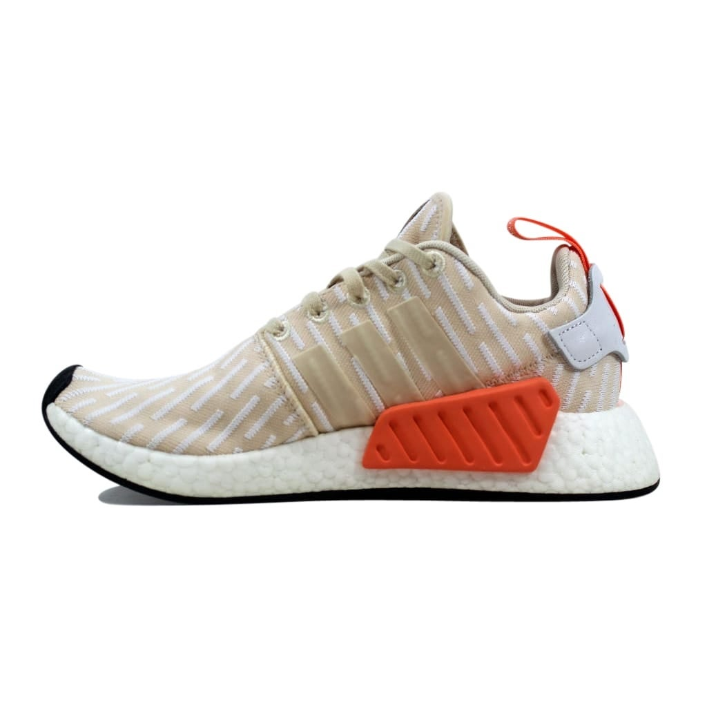 12bad5e9628f56 Shop Adidas NMD R2 W Linen Linen-White BA7260 Women s - Free Shipping Today  - Overstock - 27339739