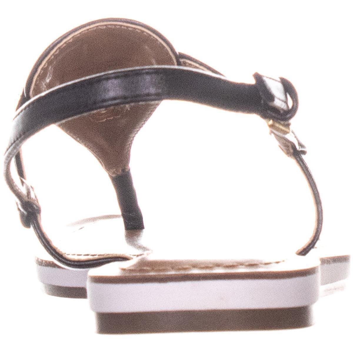 cf4e89233 Shop Tommy Hilfiger Genei Sling Back Flat Sandals