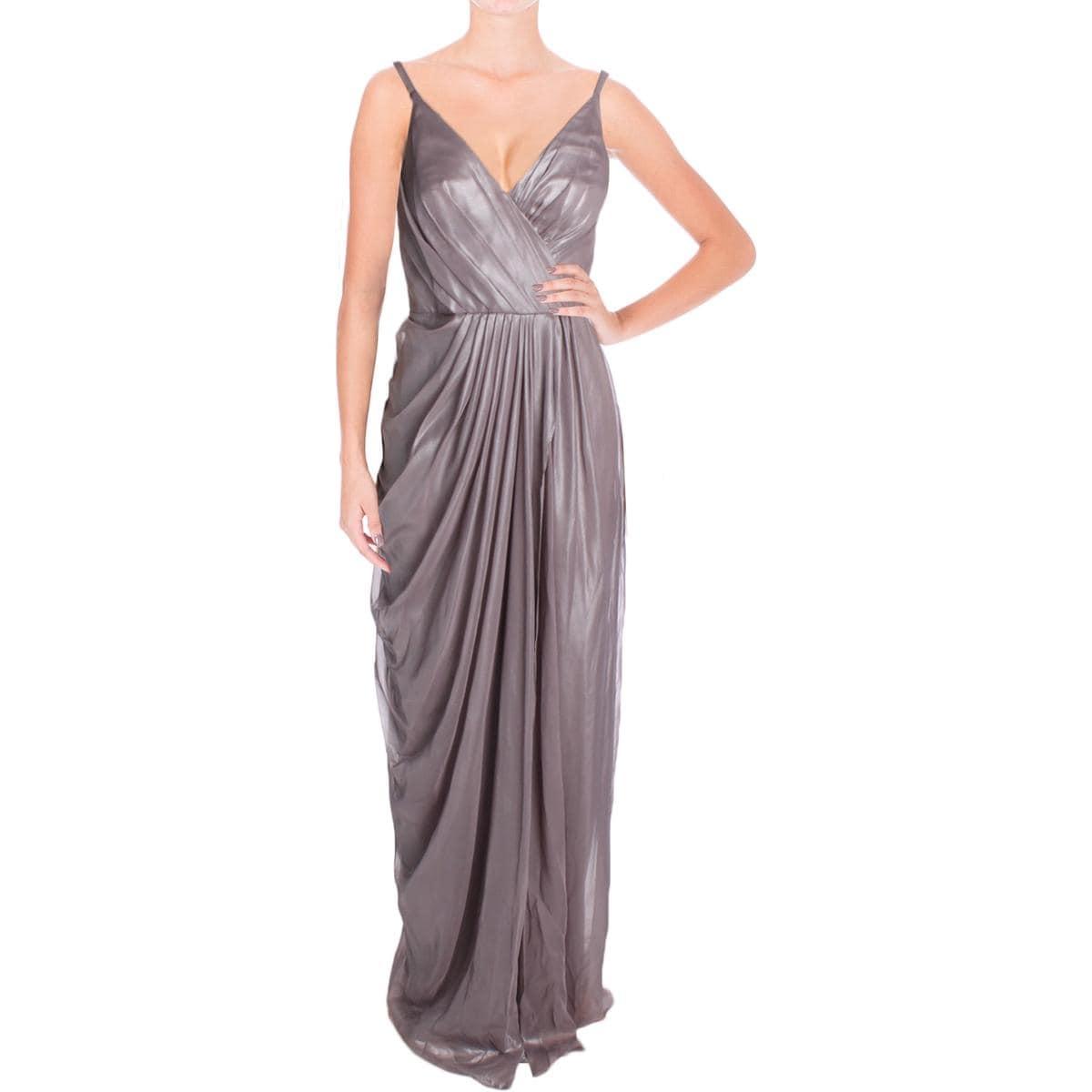 Shop Vera Wang Womens Evening Dress Chiffon Shimmer - Free Shipping ...
