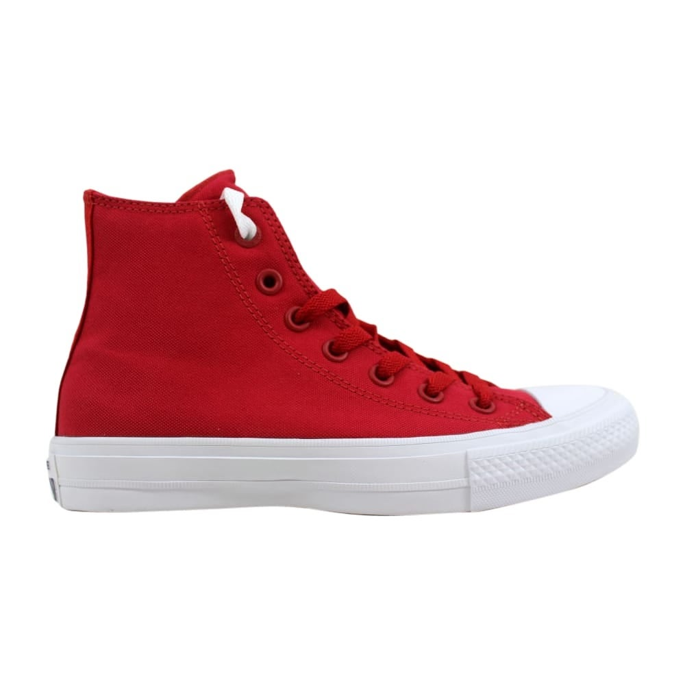 b1afa4631de Shop Converse Chuck Taylor II 2 Hi Salsa Salsa Red White 150145C Men s -  Free Shipping On Orders Over  45 - Overstock - 27339650