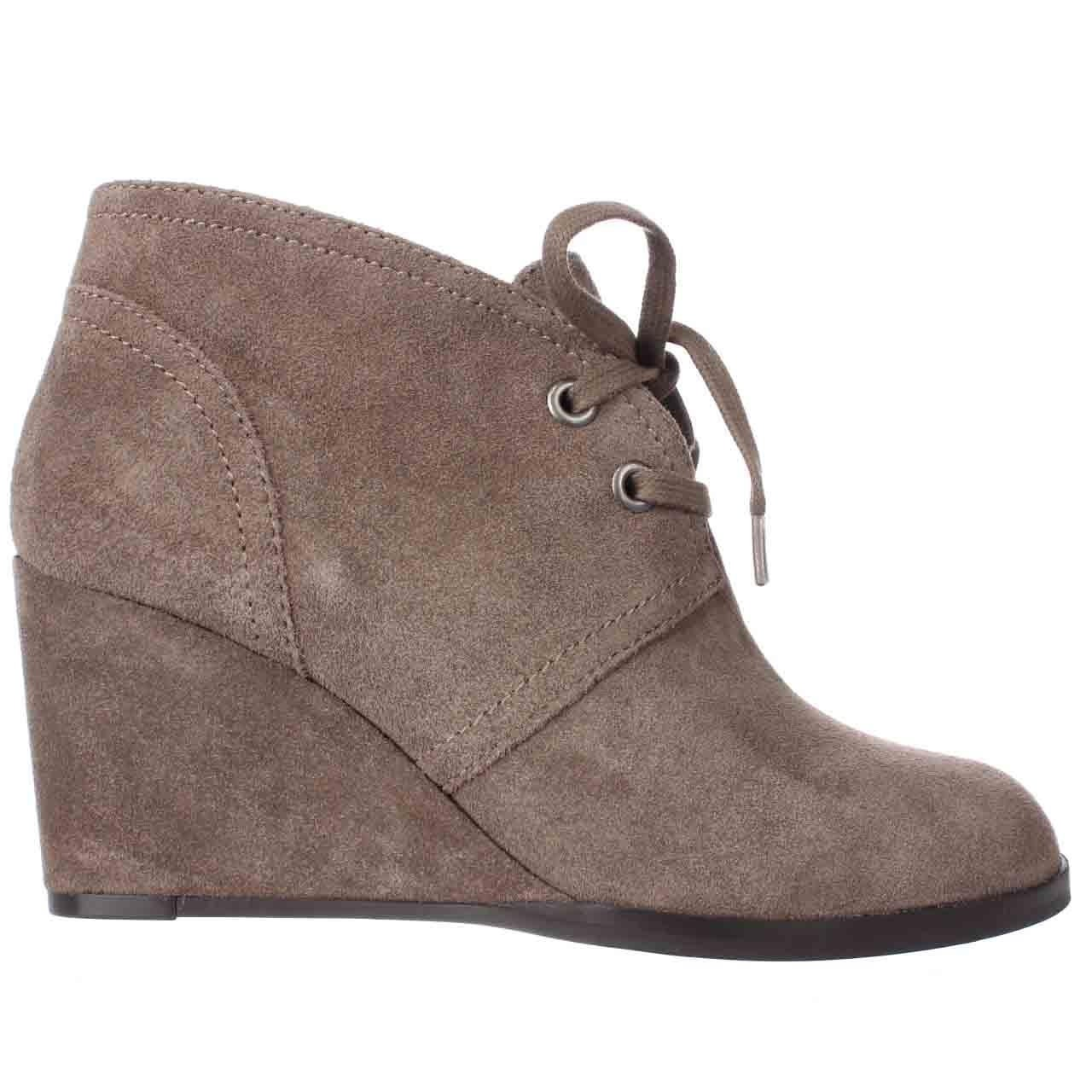 f85630827ac Shop Lucky Brand Seleste Lace Up Wedge Booties