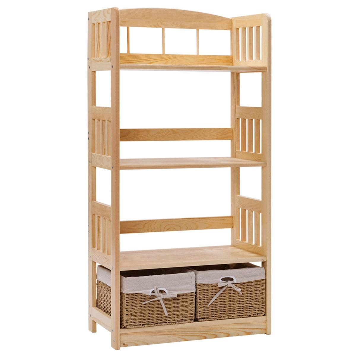 with fabric shelf bookcases amazing bookcase baskets storage collection