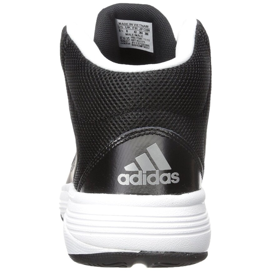 fa7f93d330851c Shop adidas Neo Men s Cloudfoam Ilation Mid Wide Basketball Shoe - 9 - Free  Shipping Today - Overstock - 24305983