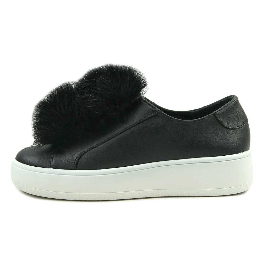 d5e9119394b Shop Steve Madden Breeze Women Synthetic Black Fashion Sneakers - Free  Shipping Today - Overstock.com - 20061324