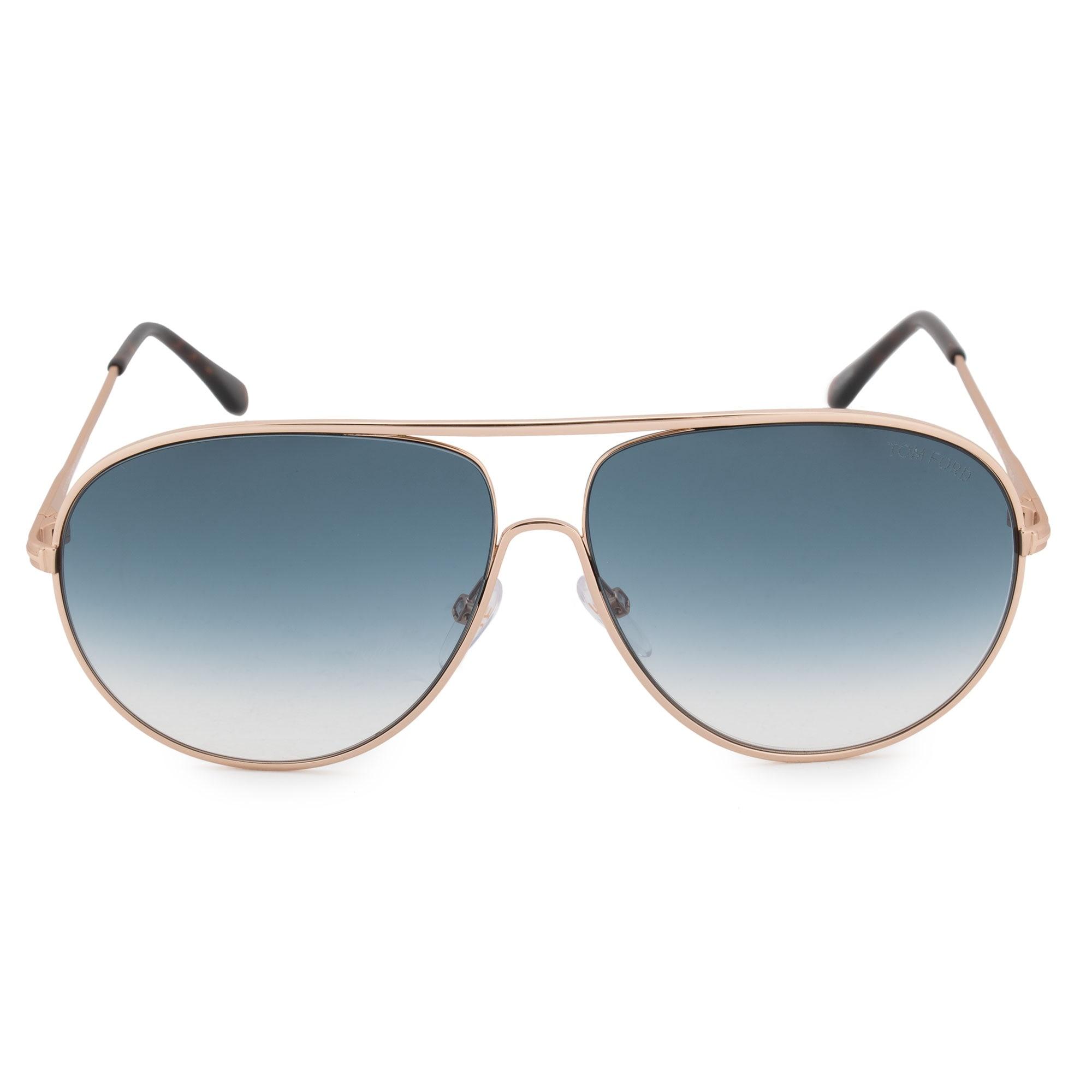 1528da77c4363 Shop Tom Ford Cliff Aviator Sunglasses FT0450 28P 61 - Free Shipping ...