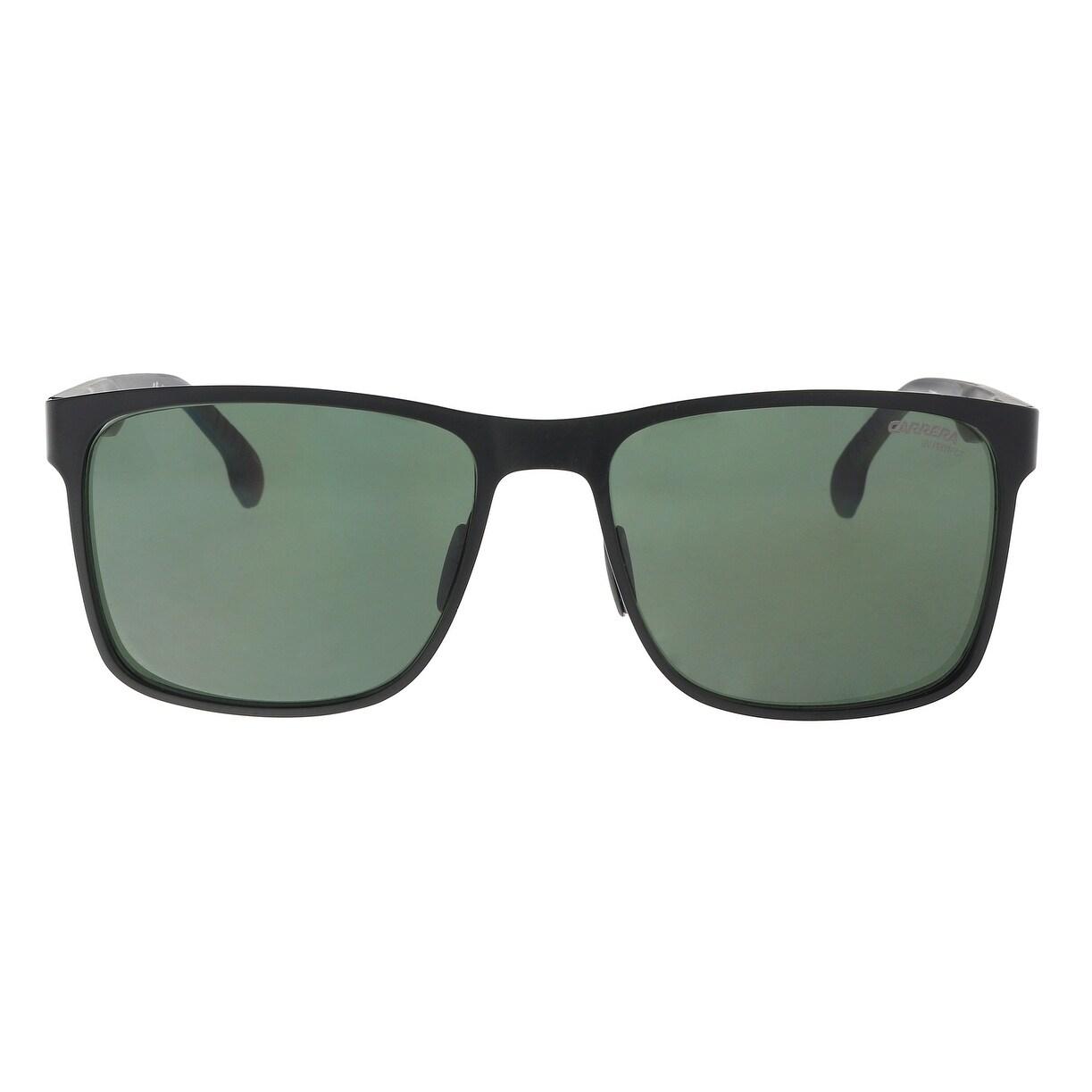 8d1d8410f04 Shop Carrera CARRERA 8026 S 0003-QT Matte Black Rectangle Sunglasses -  57-17-145 - Ships To Canada - Overstock - 21157973