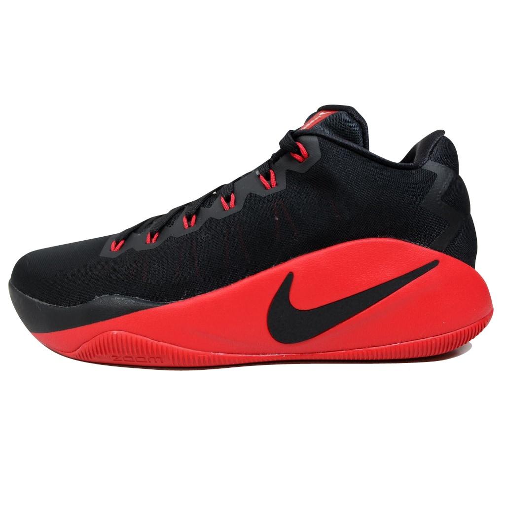 870d9d5a90e3 Shop Nike Men s Hyperdunk 2016 Low Black University Red-Dark Grey  844363-060 - Free Shipping Today - Overstock - 19757341
