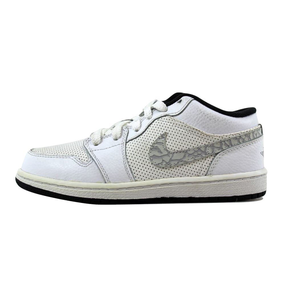 a56567a579a Shop Nike Air Jordan 1 Phat Low White/Anthracite Pre-School 338147-110 Size  1 Medium - Free Shipping Today - Overstock - 21025699