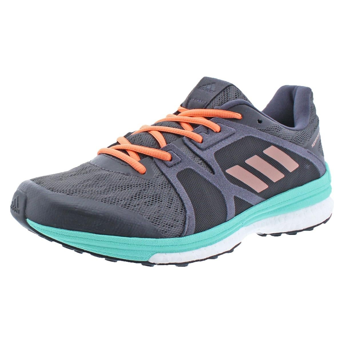 new styles 48f8a 07a26 Adidas Womens Supernova Sequence 9 Running Shoes Round Toe Lace-Up - 9  medium (b,m)