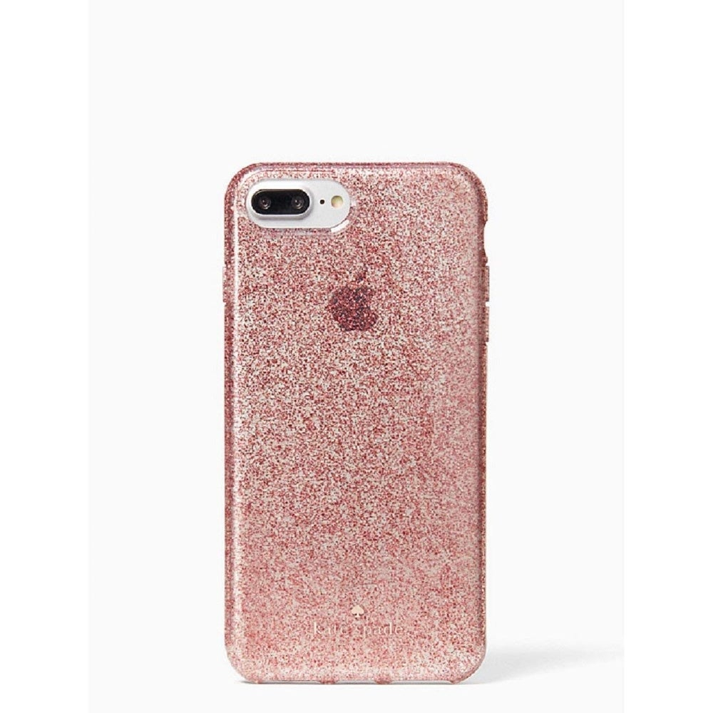 Shop Kate Spade New York Flexible Tinted Glitter Case For Iphone 8