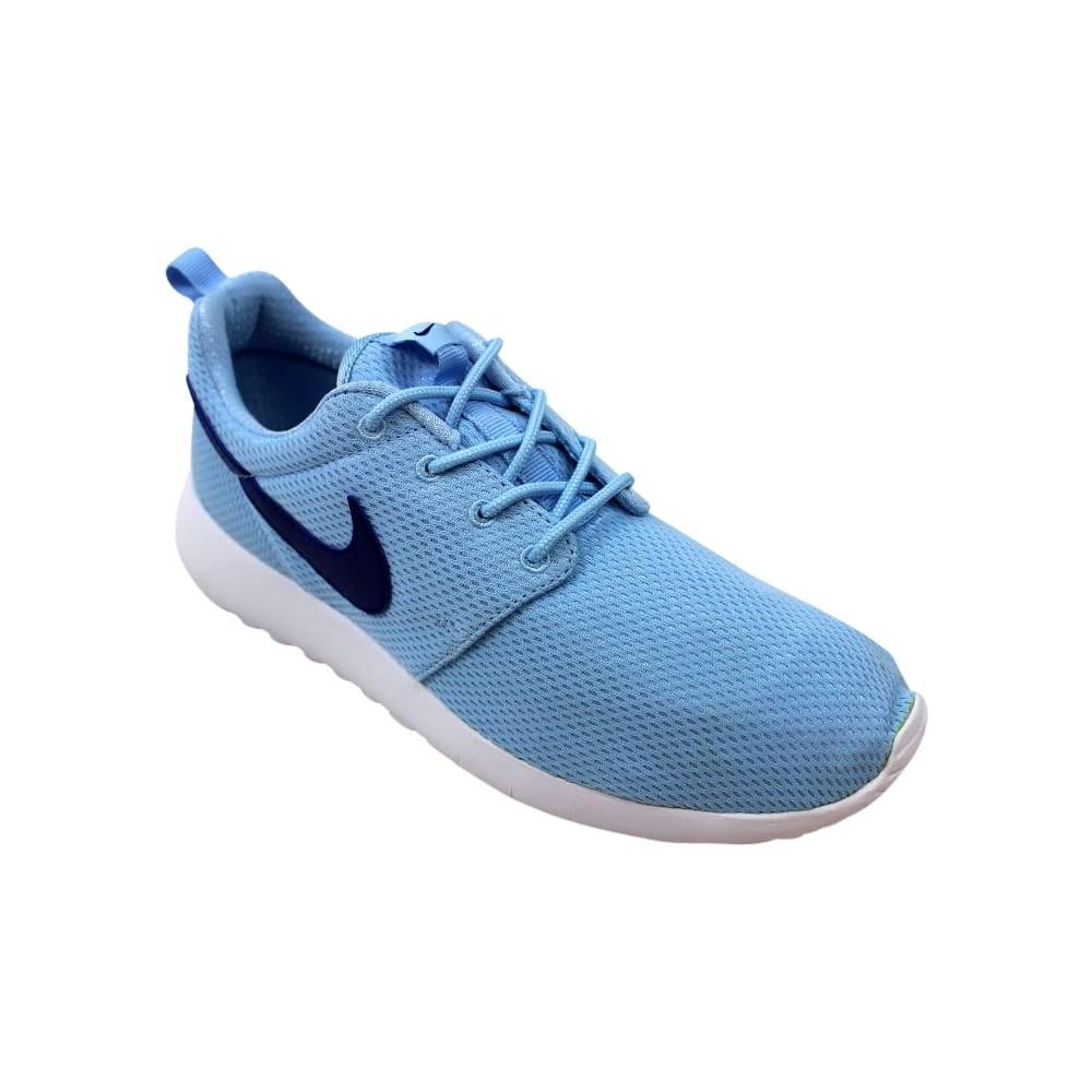 70e42b83fd487 Shop Nike Roshe One Bluecap Deep Royal Blue-White 599729-410 Grade-School -  Free Shipping Today - Overstock - 27993556