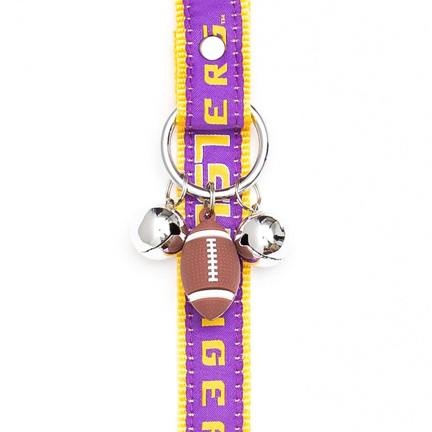 Collegiate Louisiana State Tigers Pet Training Bells - Free Shipping ...