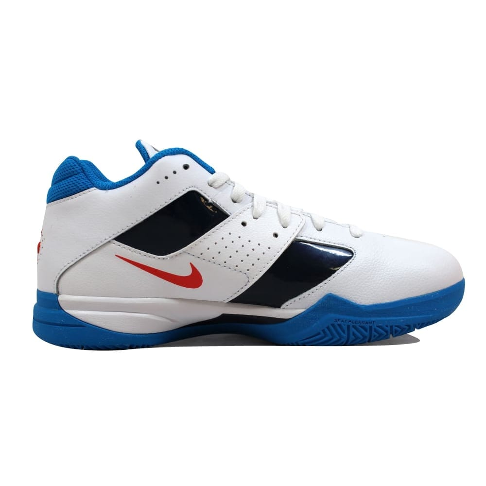 check out a45ad 3f95d Shop Nike Zoom KD III 3 White White-Team Orange-Photo Blue Kevin Durant OKC  Home Men s 417279-107 Size 7.5 Medium - Free Shipping Today - Overstock -  ...