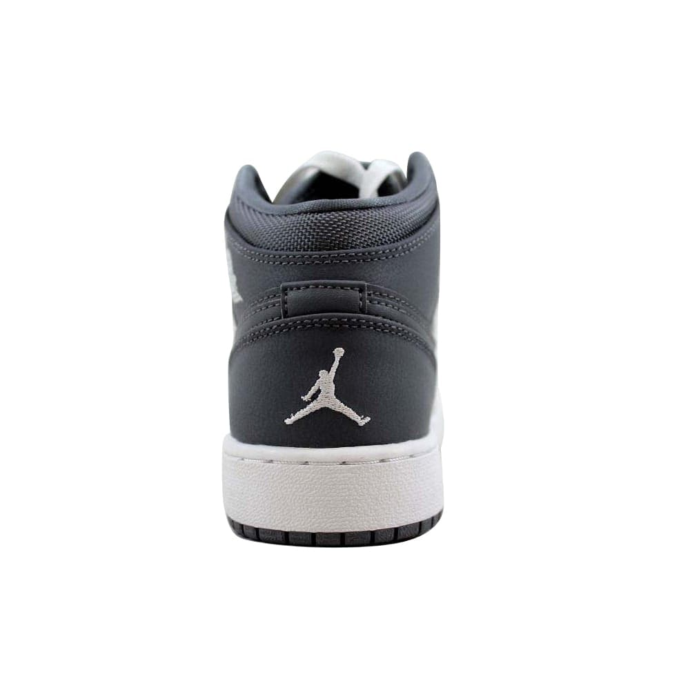 05285ef1fc64b9 Shop Nike Air Jordan I 1 Mid BG Cool Grey White-Cool Grey 554725-022  Grade-School - On Sale - Free Shipping Today - Overstock - 22531365