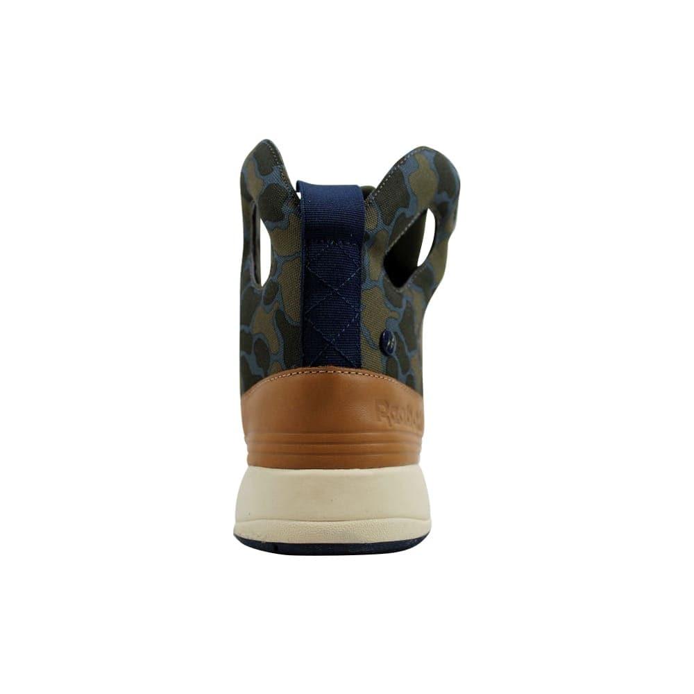 b7cf05f895fc Shop Reebok Women s Alicia Keys Court Olive Green-Blue-Tan M41271 - Free  Shipping Today - Overstock.com - 27339225