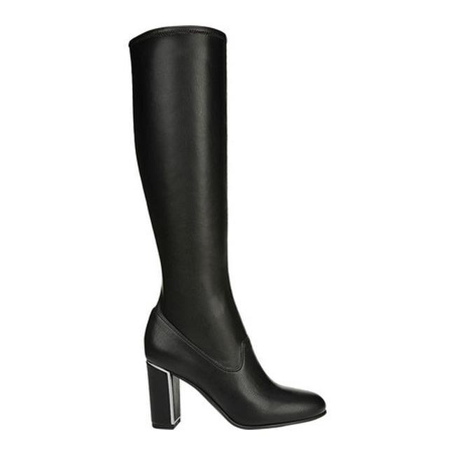 a7e5b121c53 Sarto by Franco Sarto Women s Everest Tall Boot Black Supreme Nappa  Synthetic