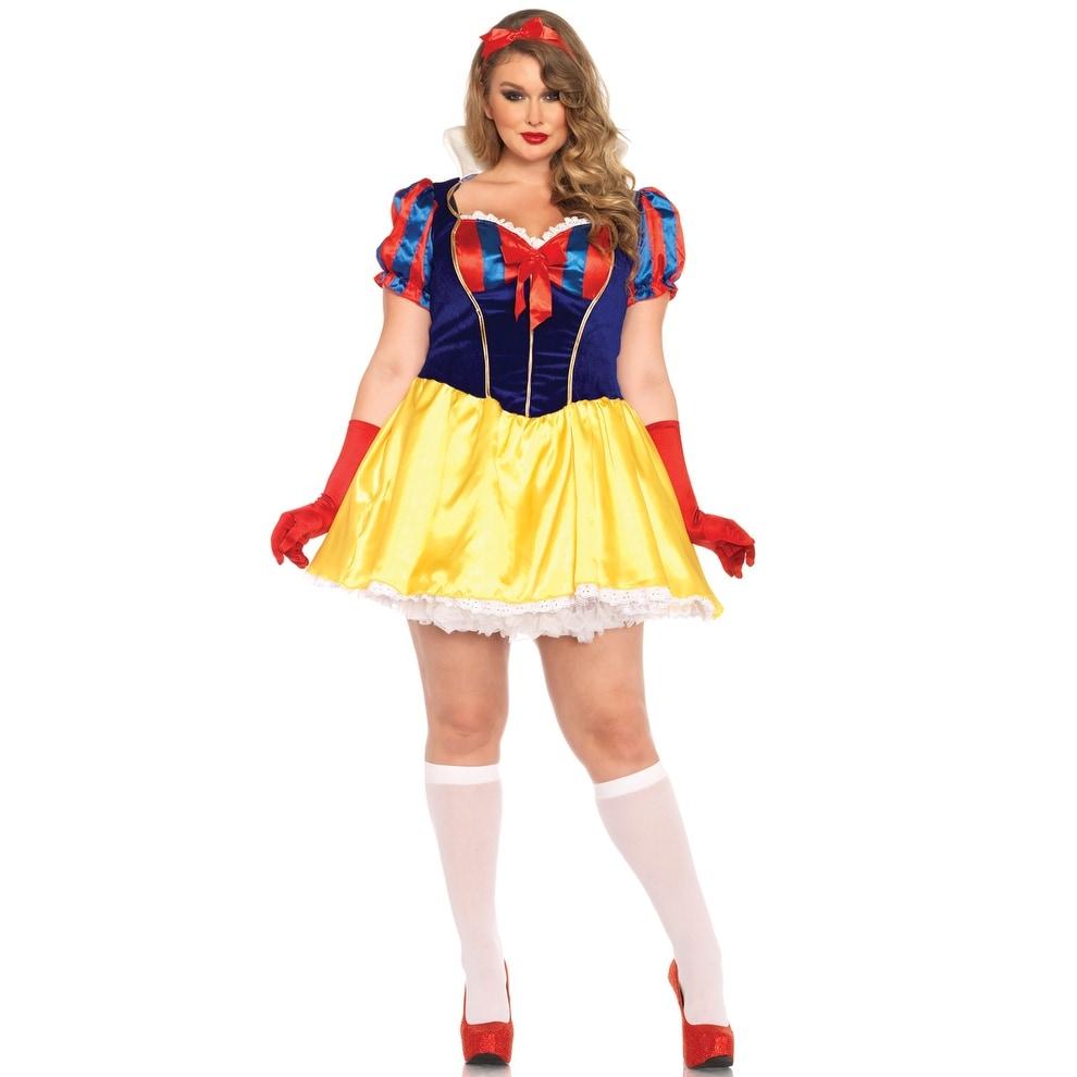 4d8e8b71a7e Shop Leg Avenue Poison Apple Princess Plus Size Costume - Blue Yellow -  1x-2x - Free Shipping Today - Overstock.com - 16951983
