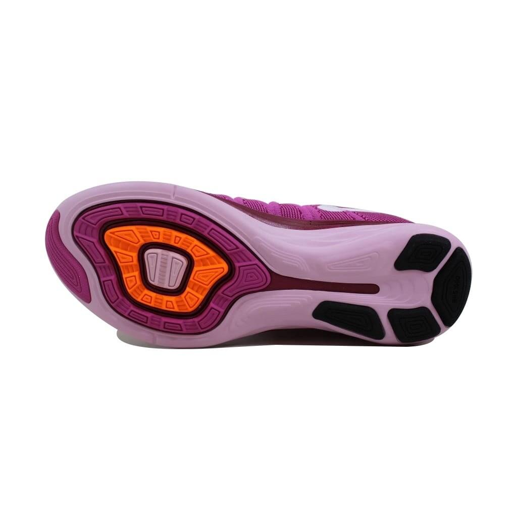 3a2121e6cf895 Shop Nike Women s Flyknit Lunar2 Light Arctic Pink White-Red Velvet-Raspberry  620658-615 - Free Shipping Today - Overstock - 24122928