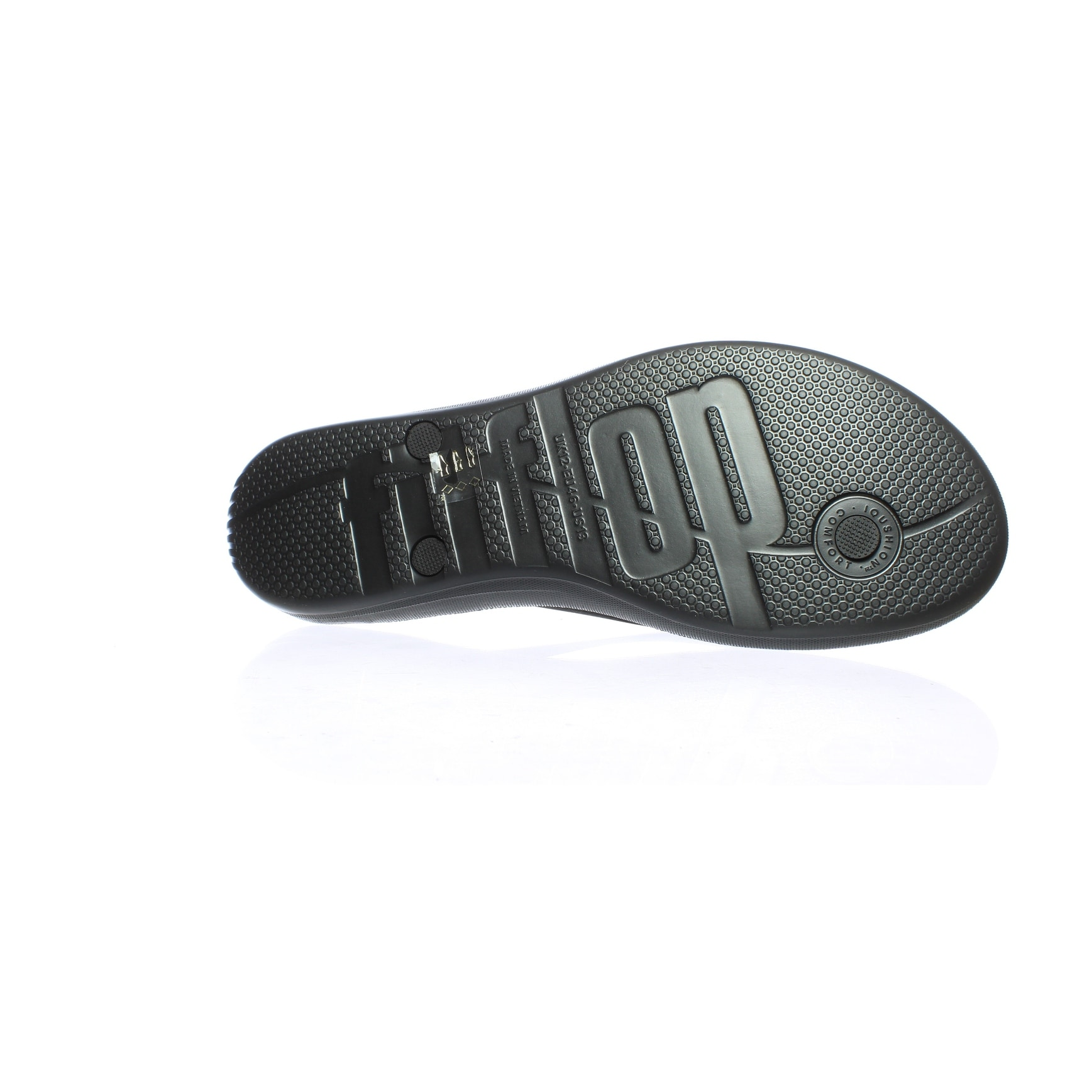 abd901f10 Shop FitFlop Mens Iqushion Black Flip Flops Size 13 - Free Shipping On  Orders Over  45 - Overstock - 27993454
