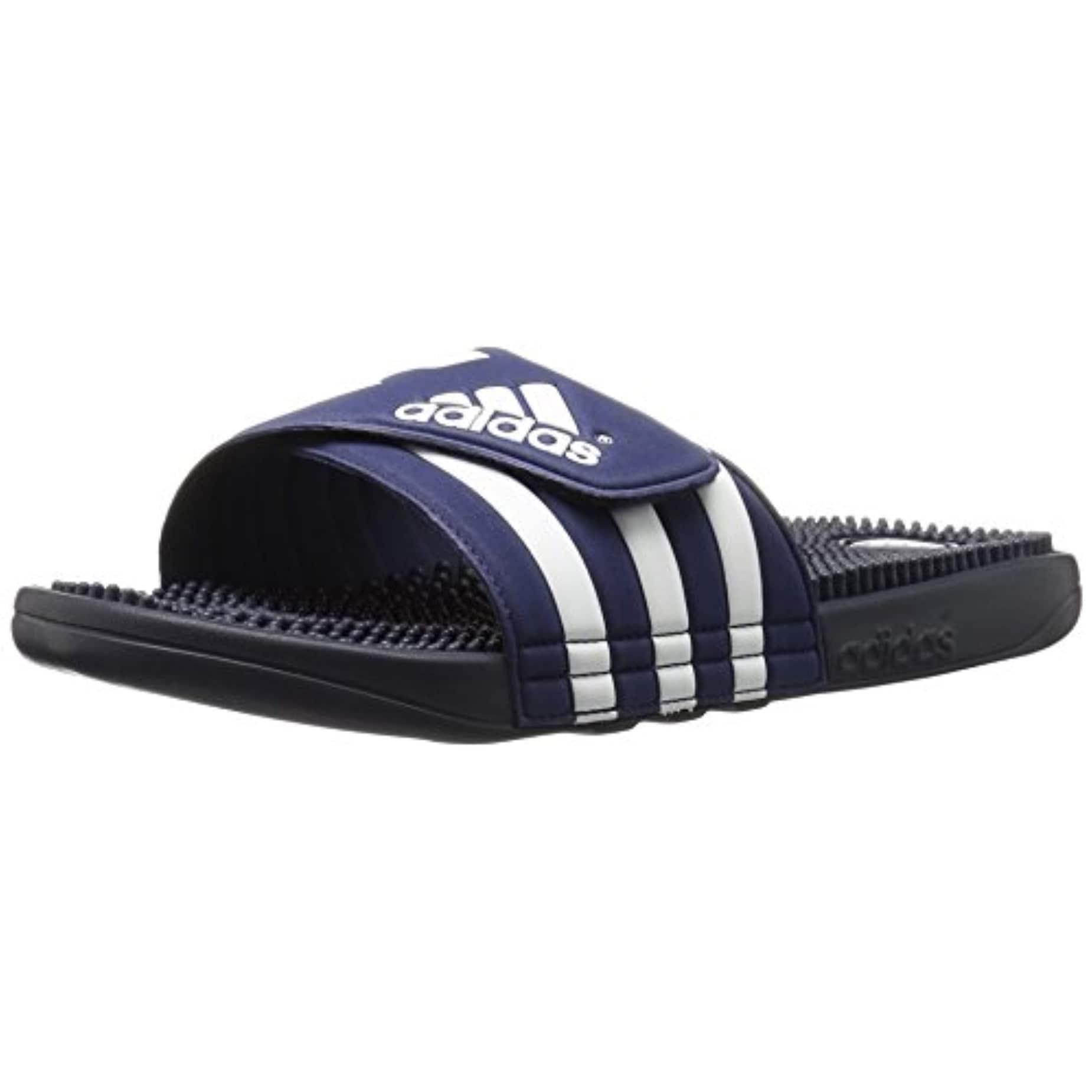 the best attitude c2ece dffd9 Shop Adidas Originals Men s Adissage Slides,New Navy New Navy Running White  - Free Shipping Today - Overstock - 27121344