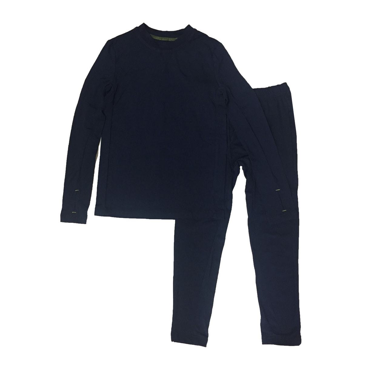 ClimateSmart Boys Warm Baselayer Comfortech Poly 2-Piece Set - Free  Shipping On Orders Over $45 - Overstock.com - 24466697