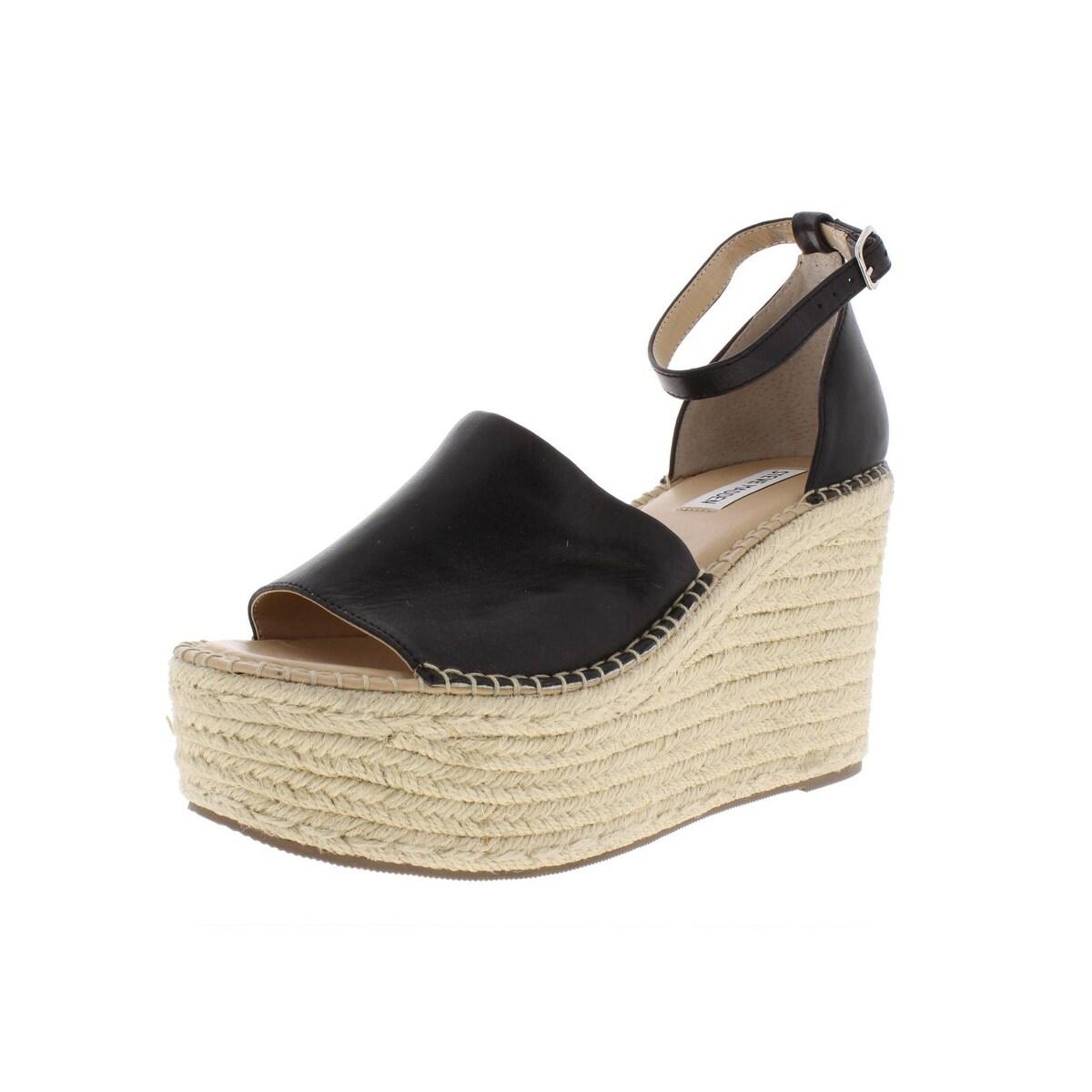 eb3f99e38b2 Steve Madden Womens Sway Platform Sandals Padded Insole Espadrilles