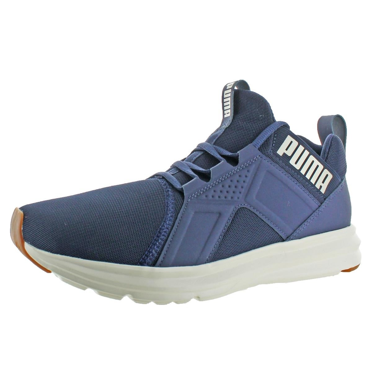 f31142e9c97f9f Shop Puma Mens Enzo Mesh Running Shoes Softfoam Trainers - Free Shipping On  Orders Over  45 - Overstock - 21936282