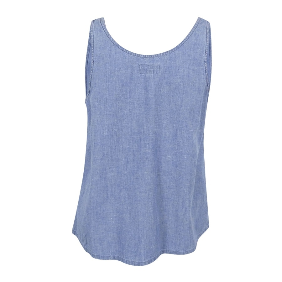 87d9dd5d59400 Shop Lucky Brand Women s Trendy Plus Size Denim Eyelet Tank Top (Aqua