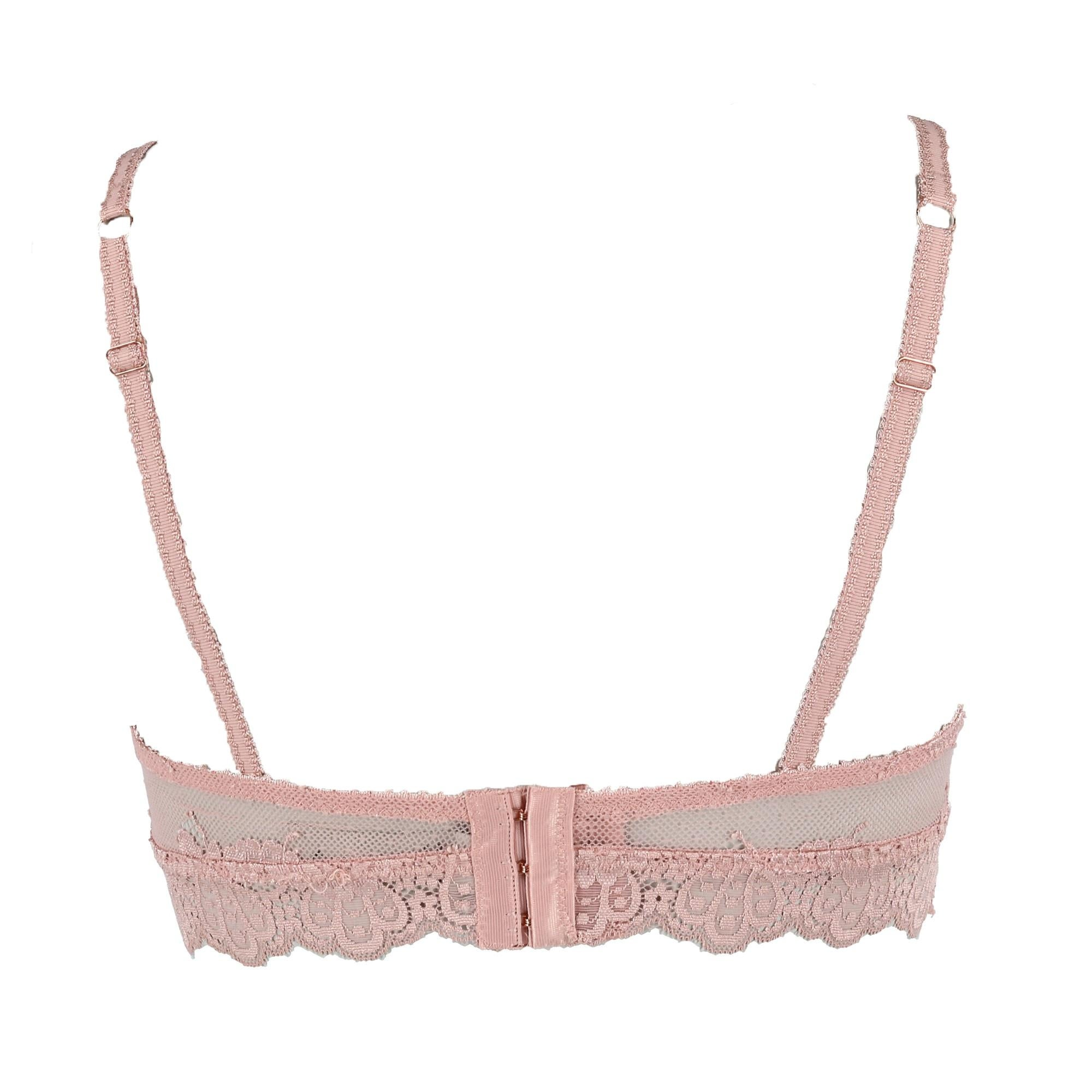 3685954dac4 Shop Rene Rofe Women s Lace Trim Bralette - Free Shipping On Orders Over   45 - Overstock - 25459856