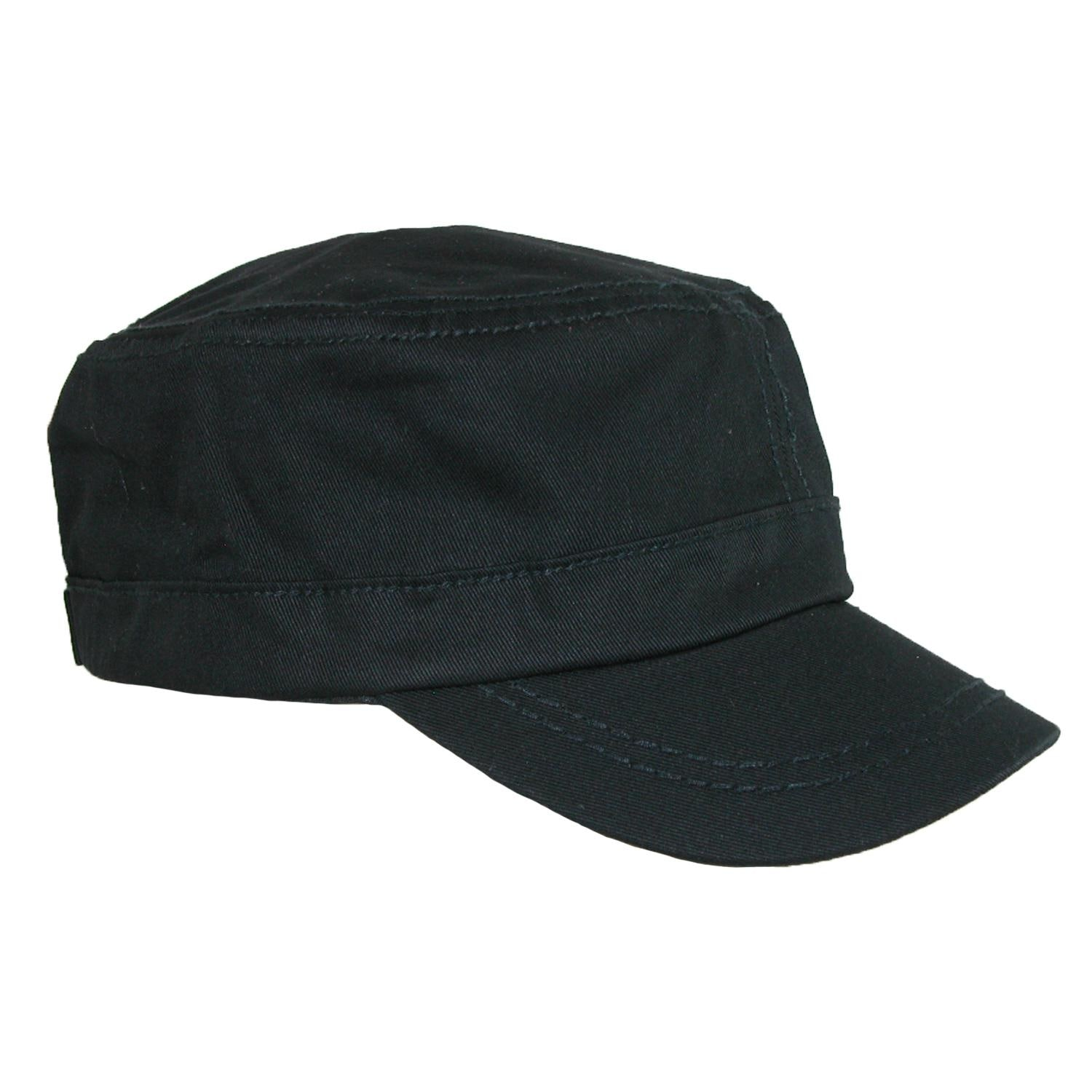 Shop Something Special Men s Cotton Basic Solid Military Cadet Hat ... a1f2c40bb6c