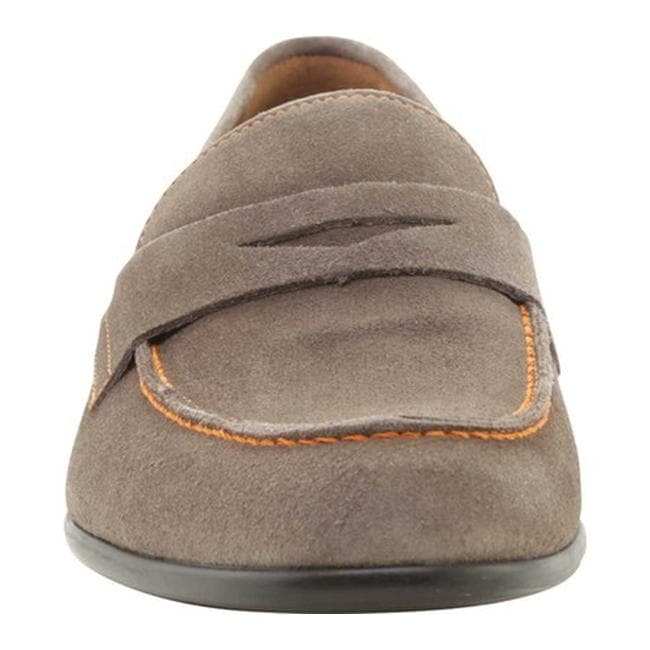 c516a674c21 Shop Bruno Magli Men s Silas Suede Penny Loafer Taupe Suede - Free Shipping  Today - Overstock - 18150921