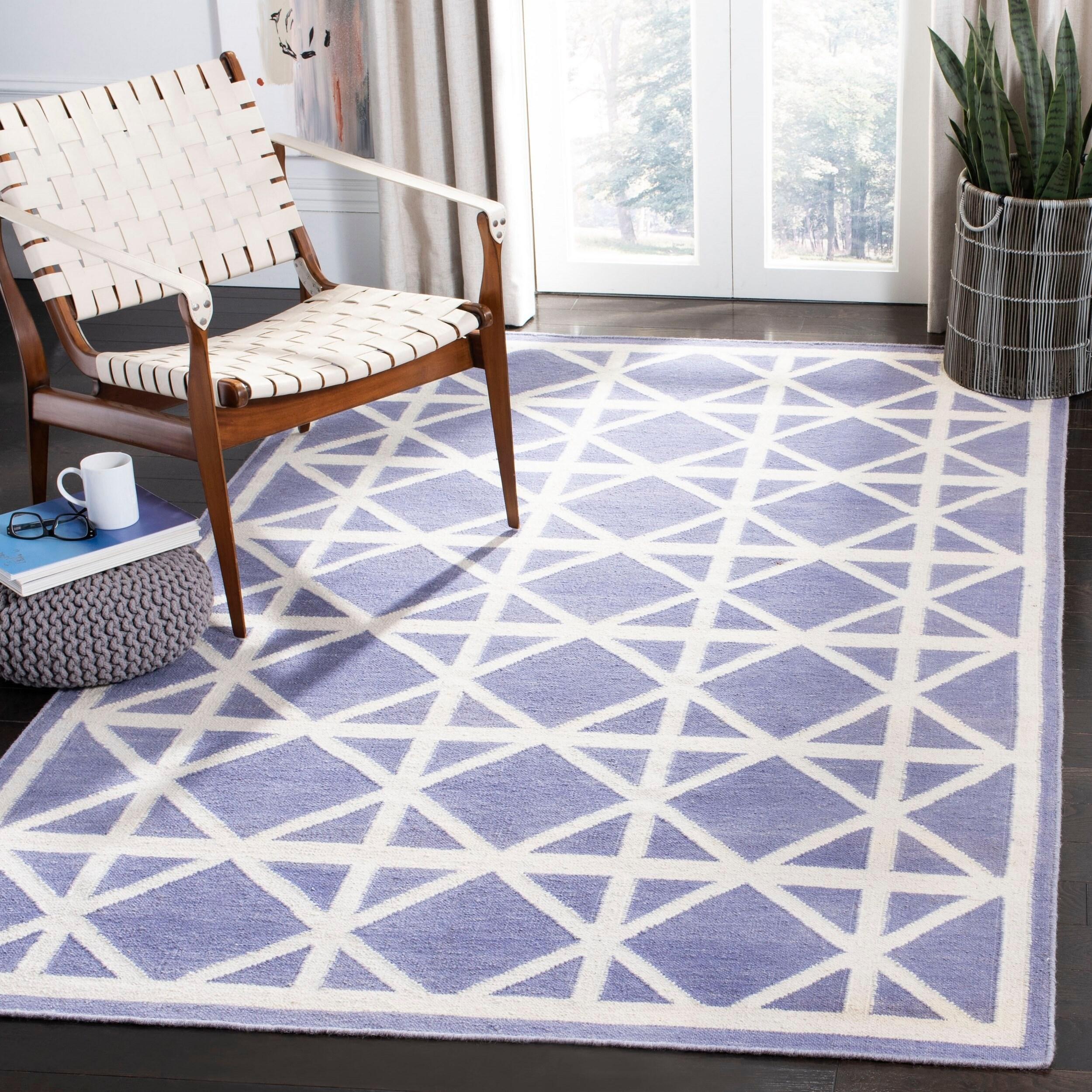 Safavieh Handmade Flatweave Dhurries Daria Modern Moroccan Wool Rug On Sale Overstock 8059335