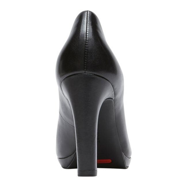 6ca976c248d0d Shop Rockport Women's Seven To 7 Ally Plain Pump Black Burn Calf - On Sale  - Free Shipping Today - Overstock - 12309938