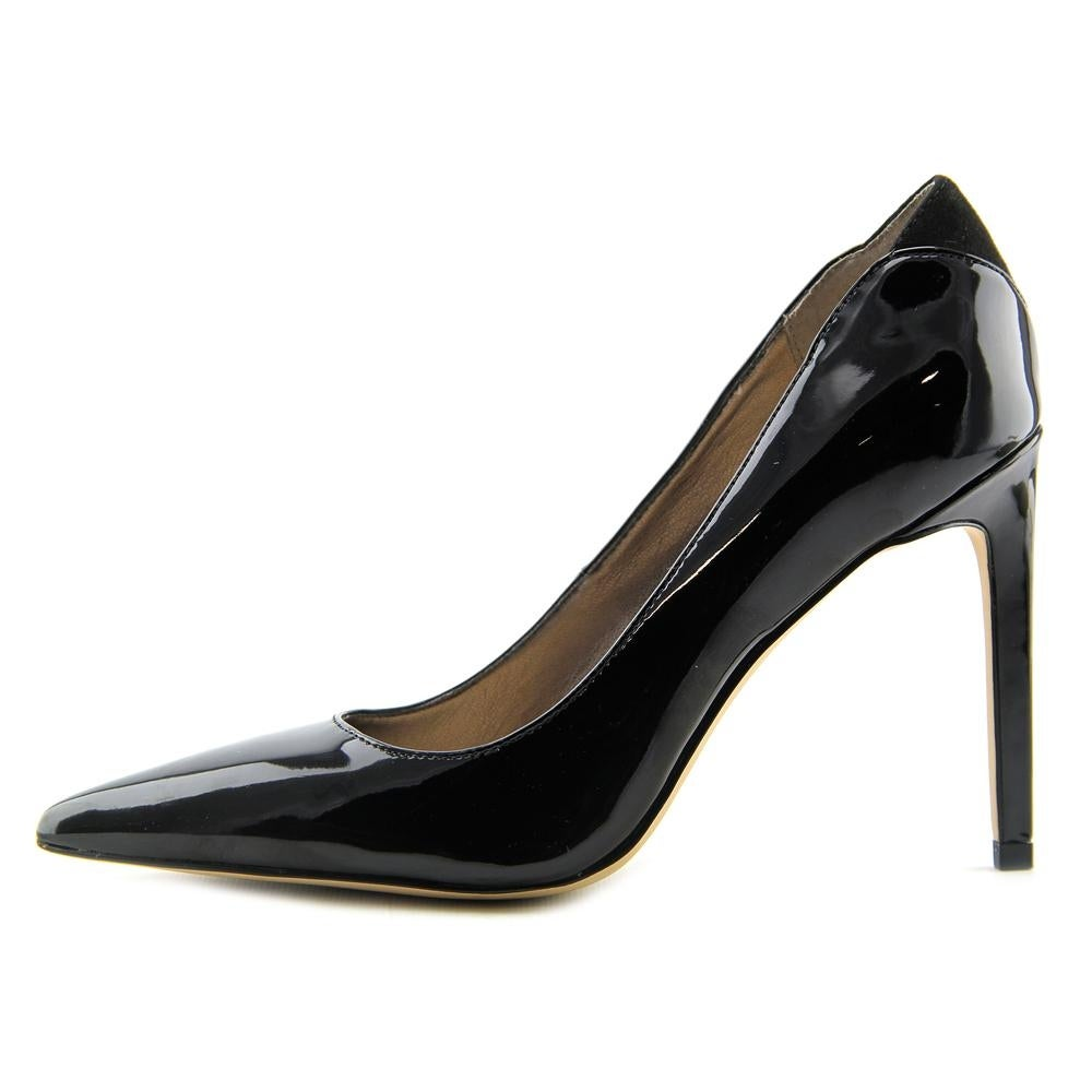 e5dbbbaae891cc Shop Sam Edelman Dea Pointed Toe Patent Leather Heels - Free Shipping Today  - Overstock - 14208089